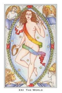 De Wereld (Medieval Enchantment-deck)